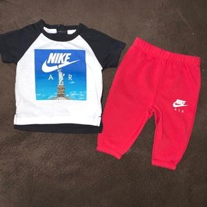 Baby Nike two piece outfit